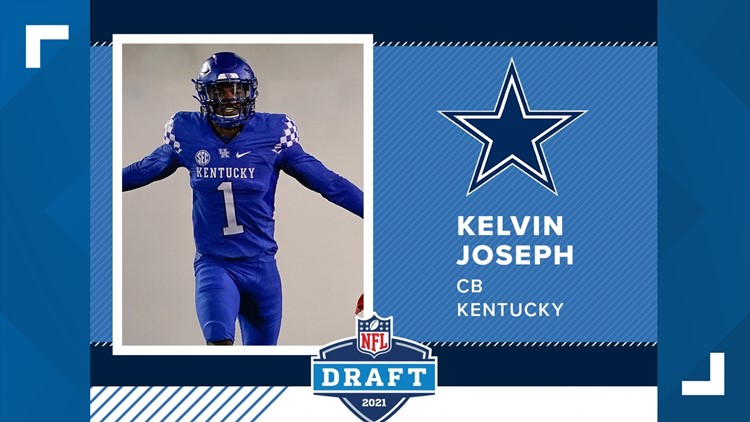 Cowboys stick with D, take Kentucky CB Kelvin Joseph in 2nd