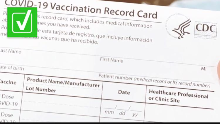 A 'vaccine passport' already exists for other diseases