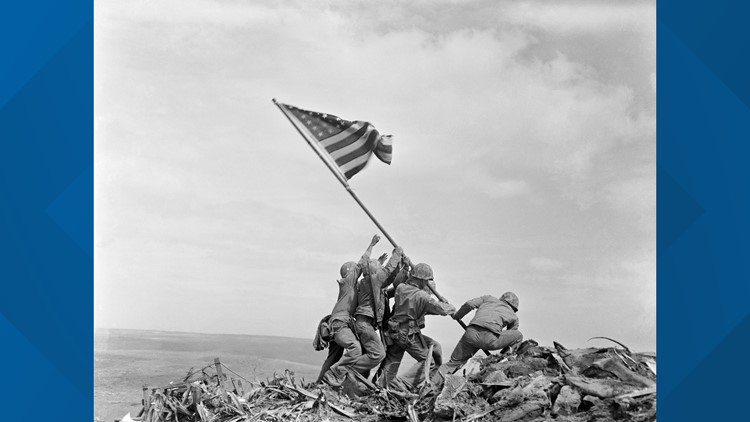 96-year-old Texas veteran shares memories of Iwo Jima 75 years later