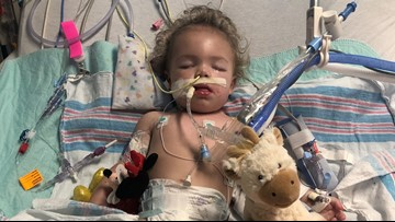 Toddler stops moving after trip to Clearwater Beach