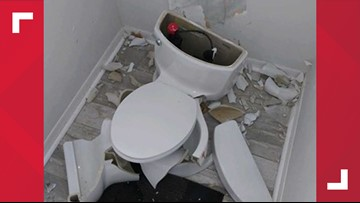 Toilet explodes after lightning hits Florida home