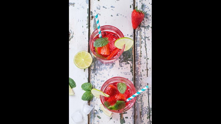 <p>This refreshing Strawberry-watermelon smash combines favorite summer flavors.</p>