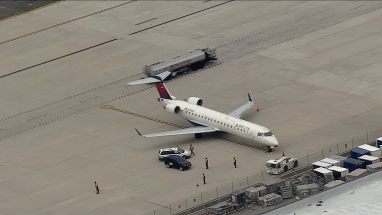 Bound flight makes emergency landing at Dulles