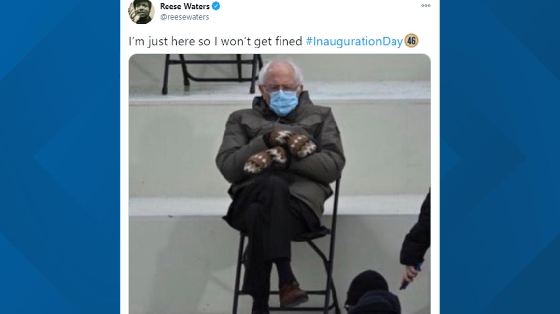 Best Bernie Sanders Inauguration 2021 Memes From Twitter Cbs19 Tv