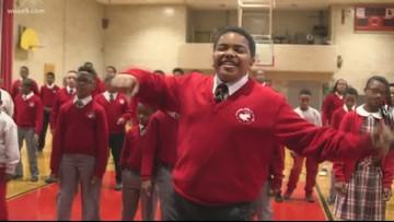 #OffScriptOn9: Cardinal Shehan School Choir performs 'Santa Claus is Coming to Town'