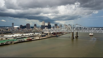 Mississippi River could surge 3 feet from tropical weather