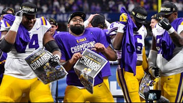 LSU top seed in College Football Playoff, OSU, Clemson, Oklahoma also in