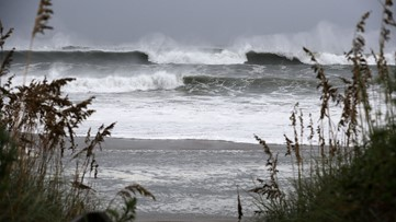 What is a storm surge and what does it mean?