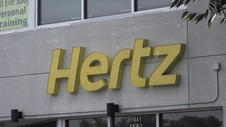 Hertz rental car